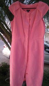 Talbots cap sleeve dress